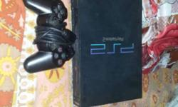 Sony PS2 with many exciting things