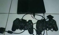 Sony Ps2 Black Console