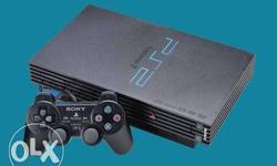 Sony PS2 Console With Controller , this is fat model