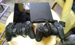 sony ps2 playstation with original joy stick