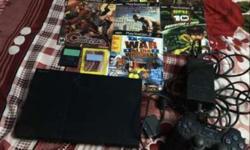 Sony PS3 Console, Game Controller And Game Case Lot