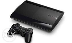 Sony PS3 Super Slim Console And Controller