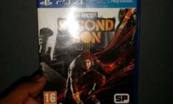 Sony PS4 Infamouse Second Son Game Case