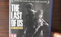 Sony Ps4 The Last Of Us Remastered Game