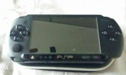 Sony psp with games inbuildusb cable earphones also