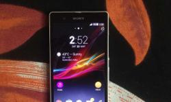 Sony Xperia Z in MINT Condition With Box, Accessories