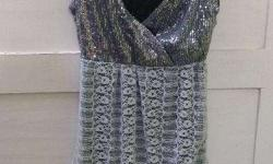 Sparkly tunic for parties