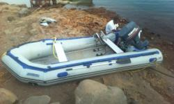 I have a sea EAgle 2011 its a 14 foot inflateable boat,