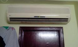 Want to sale good condition Excellent cooling split Ac