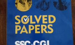 ssc-cgl solved papers. Brandnew book