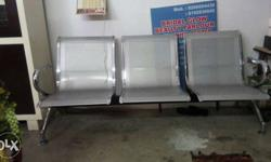Stainless Steel 3 Chairs