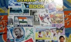 My stamp collection book with stamps at reasonable rate