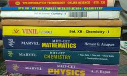 Std 12 reference books and guides, MARVEL CET books,