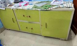 Steel cupboard. Its very spacious and of good quality