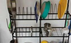 Steel kitchen rack...no joint broken...selling as