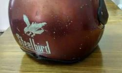 SteelBird full face crash helmet in good condition for