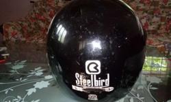 Steelbird helmet. ISI marked