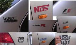 Stickers for your CAR/BIKE Water Proof - Fade Proof
