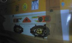 Gas stove butterfly .. Unused stove cheap rate... Good