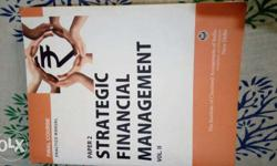 strategic financial management book for ca studying