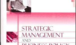 (Old Second Hand Book) - Strategic Management and
