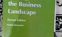 Strategy And The Business Landscape Book