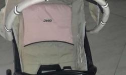 Jeep company imported stroller sparingly used