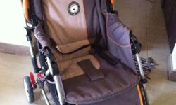 A two year old sparingly used pram in good condition