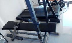 Sturdy Bench press and leg press rarely used is for