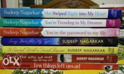All new Sudeep Nagarkar books are available with me