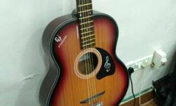 sunburst wood shade guitar for sale, amazing looks and