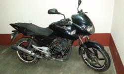 Condition: Used just 8500km run black color pulsar 150