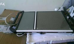 Food warmer is in a good condition, it can be placeon
