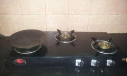 Suryaflame 3 burner gas stove for sale. This looks good