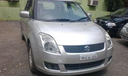 Swift,zxi,2008 model 1,owner, 80000km, Silver color,