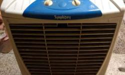 Symphony Winter Air Cooler in Good condition around 5