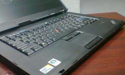 t400 Lenovo think pad Laptop Intel core2duo rs.9K