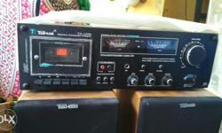 Takai transistor deck with two takai speaker come first