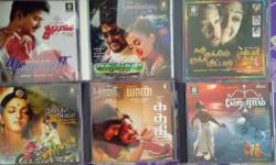 Tamil film audio cds all are brand new..
