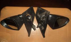 Used side mirrors in good working condition, 2 pieces