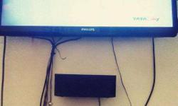 One and half years old Tata sky HD set top box machine