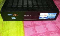 Tata Sky Hd Complete Set With Dish Antenna Less Than 3