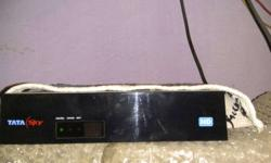 Tata Sky HD Set Top Box with Antenna and 10Metre wire
