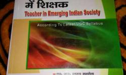 Teacher In Emerging Indian Society Book