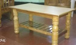 Teak wood Big and strong center table