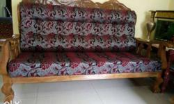 5 pcs Sofa set made of Teak Wood as good as new.selling