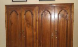 teakwood cabinet/almirah for clothes etc