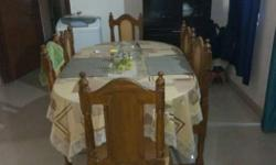 !!teakwood Dining Table With 6 Chairs In Best