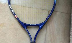 tennis racket with cover,good condition