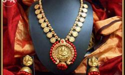 Latha's is the place to learn terracotta jewellery